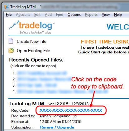 Installing TradeLog on a New Computer – TradeLog Software