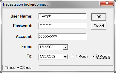 Importing with BrokerConnect - TradeStation – TradeLog Software