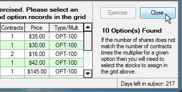 Option tradeing when assigned